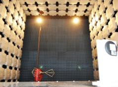 Camera semianecoica operante fino a 26GHz